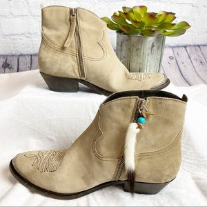 NWOB Golden Goose Young Suede Ankle Boots